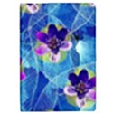 Purple Flowers iPad Mini 2 Flip Cases View1