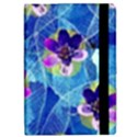 Purple Flowers iPad Mini 2 Flip Cases View2