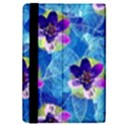 Purple Flowers iPad Mini 2 Flip Cases View4