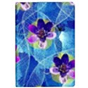 Purple Flowers iPad Air Flip View1