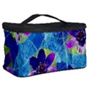 Purple Flowers Cosmetic Storage Case View2