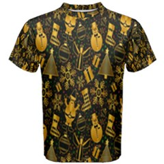 Christmas Background Men s Cotton Tee