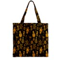 Christmas Background Zipper Grocery Tote Bag View1
