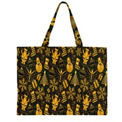 Christmas Background Large Tote Bag