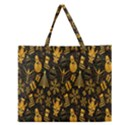 Christmas Background Zipper Large Tote Bag View1