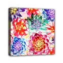 Colorful Succulents Mini Canvas 6  x 6  View1