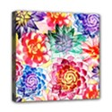 Colorful Succulents Mini Canvas 8  x 8  View1