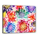 Colorful Succulents Canvas 20  x 16  View1