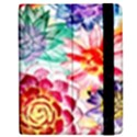 Colorful Succulents Apple iPad 3/4 Flip Case View2