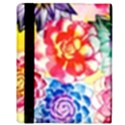 Colorful Succulents Apple iPad 3/4 Flip Case View3