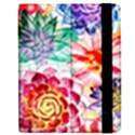 Colorful Succulents Apple iPad Mini Flip Case View2