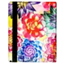 Colorful Succulents Apple iPad Mini Flip Case View3