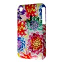 Colorful Succulents Apple iPhone 3G/3GS Hardshell Case (PC+Silicone) View3