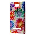 Colorful Succulents HTC 8S Hardshell Case View3
