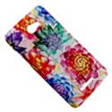 Colorful Succulents HTC Butterfly X920E Hardshell Case View5