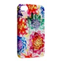 Colorful Succulents Apple iPhone 4/4S Hardshell Case with Stand View2