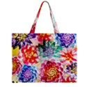 Colorful Succulents Zipper Mini Tote Bag View2