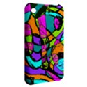 Abstract Sketch Art Squiggly Loops Multicolored Apple iPhone 3G/3GS Hardshell Case View2