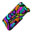 Abstract Sketch Art Squiggly Loops Multicolored Apple iPhone 3G/3GS Hardshell Case View4