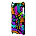Abstract Sketch Art Squiggly Loops Multicolored Apple iPod Touch 4 View3