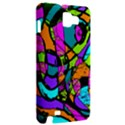 Abstract Sketch Art Squiggly Loops Multicolored Samsung Galaxy Note 1 Hardshell Case View2