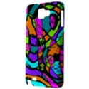 Abstract Sketch Art Squiggly Loops Multicolored Samsung Galaxy Note 1 Hardshell Case View3