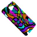 Abstract Sketch Art Squiggly Loops Multicolored Samsung Galaxy Note 1 Hardshell Case View5