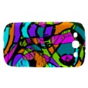 Abstract Sketch Art Squiggly Loops Multicolored Samsung Galaxy S III Hardshell Case  View1