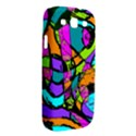 Abstract Sketch Art Squiggly Loops Multicolored Samsung Galaxy S III Hardshell Case  View2