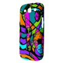 Abstract Sketch Art Squiggly Loops Multicolored Samsung Galaxy S III Hardshell Case  View3