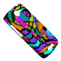 Abstract Sketch Art Squiggly Loops Multicolored HTC One S Hardshell Case  View5