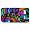 Abstract Sketch Art Squiggly Loops Multicolored HTC Radar Hardshell Case  View1