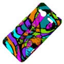 Abstract Sketch Art Squiggly Loops Multicolored HTC Radar Hardshell Case  View4
