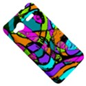 Abstract Sketch Art Squiggly Loops Multicolored HTC Radar Hardshell Case  View5