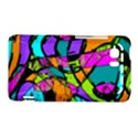 Abstract Sketch Art Squiggly Loops Multicolored HTC Vivid / Raider 4G Hardshell Case  View1