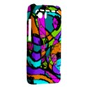 Abstract Sketch Art Squiggly Loops Multicolored HTC Vivid / Raider 4G Hardshell Case  View2