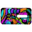 Abstract Sketch Art Squiggly Loops Multicolored HTC Evo 3D Hardshell Case  View1