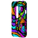 Abstract Sketch Art Squiggly Loops Multicolored HTC Evo 3D Hardshell Case  View3