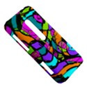 Abstract Sketch Art Squiggly Loops Multicolored HTC Evo 3D Hardshell Case  View5
