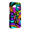 Abstract Sketch Art Squiggly Loops Multicolored HTC Droid Incredible 4G LTE Hardshell Case View2