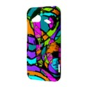 Abstract Sketch Art Squiggly Loops Multicolored HTC Droid Incredible 4G LTE Hardshell Case View3