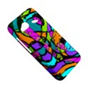 Abstract Sketch Art Squiggly Loops Multicolored HTC Droid Incredible 4G LTE Hardshell Case View5