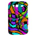 Abstract Sketch Art Squiggly Loops Multicolored HTC Wildfire S A510e Hardshell Case View2