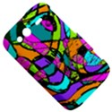 Abstract Sketch Art Squiggly Loops Multicolored HTC Wildfire S A510e Hardshell Case View5