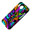 Abstract Sketch Art Squiggly Loops Multicolored HTC Desire HD Hardshell Case  View4
