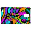 Abstract Sketch Art Squiggly Loops Multicolored Samsung Infuse 4G Hardshell Case  View1