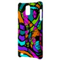 Abstract Sketch Art Squiggly Loops Multicolored Samsung Infuse 4G Hardshell Case  View3