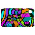 Abstract Sketch Art Squiggly Loops Multicolored Samsung Galaxy S i9000 Hardshell Case  View1