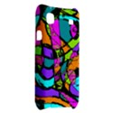 Abstract Sketch Art Squiggly Loops Multicolored Samsung Galaxy S i9000 Hardshell Case  View2