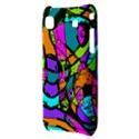Abstract Sketch Art Squiggly Loops Multicolored Samsung Galaxy S i9000 Hardshell Case  View3